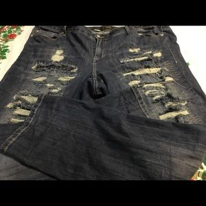 Torrid distressed boyfriend jeans 24
